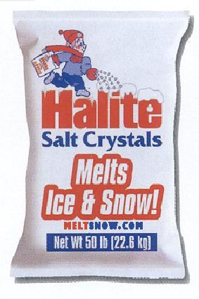 Bagged 50 lb salt - Halite
